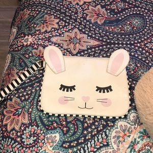 LuvbEtsy kitty cat makeup bag